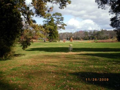 Victor Ashe Park, Main course, Hole 2 Reverse (back up the fairway)