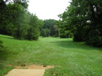 Victor Ashe Park, Main course, Hole 14 Tee pad