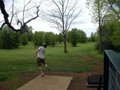 Victor Ashe Park, Main course, Hole 6 Tee pad