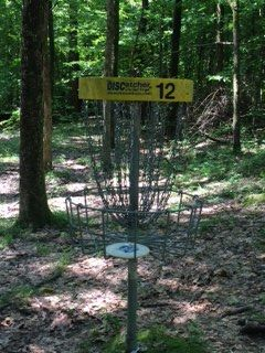 Meeman-Shelby State Park, East course, Hole 12 Putt