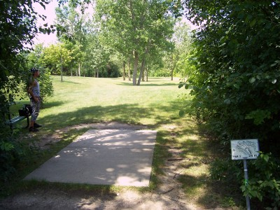 Freedom Park, Main course, Hole 1 Tee pad