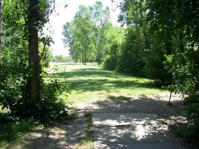Freedom Park, Main course, Hole 3 Tee pad