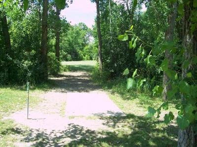 Freedom Park, Main course, Hole 2 Tee pad