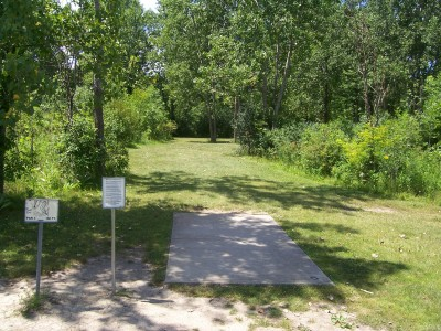 Freedom Park, Main course, Hole 5 Tee pad