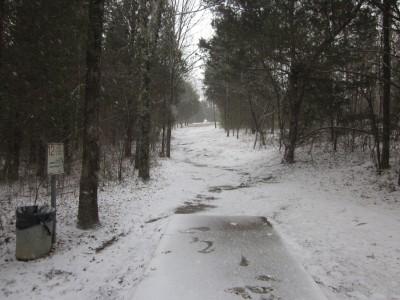Cedar Hill Park, Main course, Hole 12 Tee pad