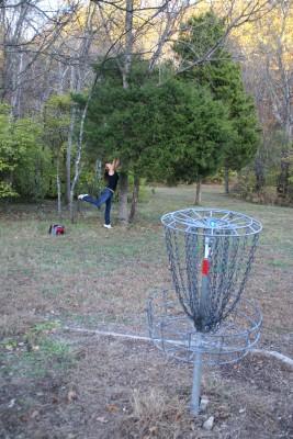 Cedar Hill Park, Main course, Hole 17 Putt