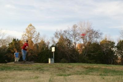 Cedar Hill Park, Main course, Hole 17 Long tee pad