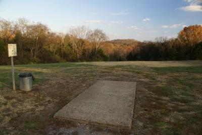 Cedar Hill Park, Main course, Hole 17 Tee pad