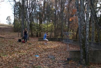 Cedar Hill Park, Main course, Hole 10 Reverse (back up the fairway)