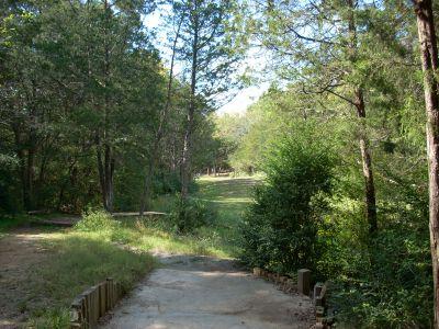Seven Oaks, Main course, Hole 16 Tee pad