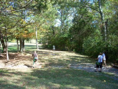 Seven Oaks, Main course, Hole 19 Midrange approach