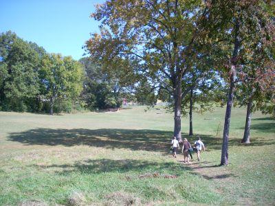 Seven Oaks, Main course, Hole 1 Tee pad