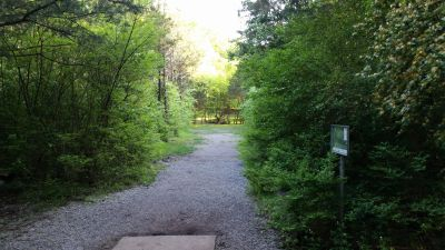 Seven Oaks, Main course, Hole 15 Tee pad