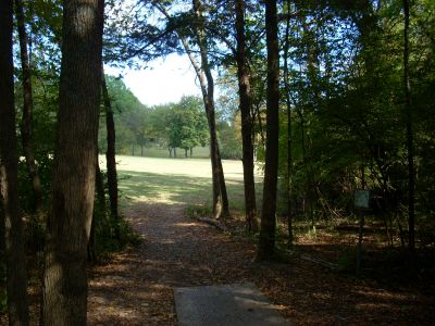 Seven Oaks, Main course, Hole 21 Tee pad