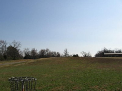 Sharp Springs, Main course, Hole 17 Reverse (back up the fairway)
