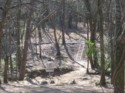 Sharp Springs, Main course, Hole 1 Short approach
