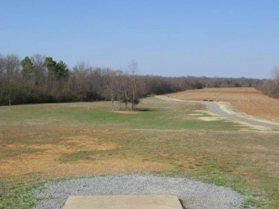 Sharp Springs, Main course, Hole 17 Tee pad