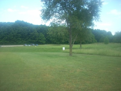 Cascade Township Park, Main course, Hole 12