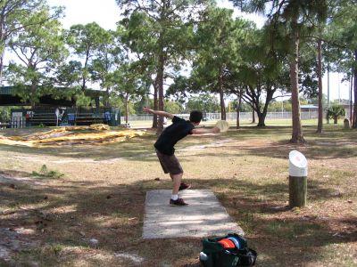 Bonita Springs Recreation Center, Main course, Hole 6 Tee pad