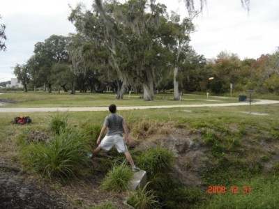 Cliff Stephens Park, Main course, Hole 11 Putt