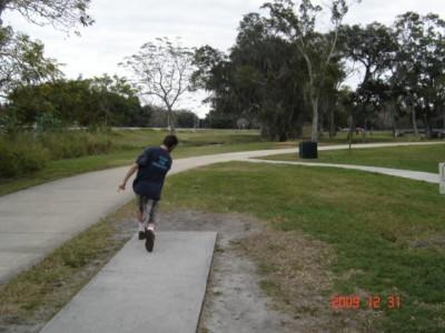 Cliff Stephens Park, Main course, Hole 18
