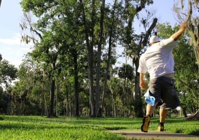 Tuscawilla Park, Main course, Hole 14 Tee pad