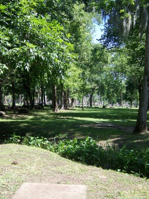 Tuscawilla Park, Main course, Hole 8 Long tee pad