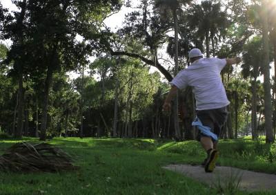 Tuscawilla Park, Main course, Hole 17 Tee pad