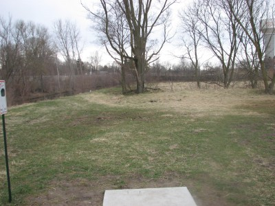 Lincoln Park, Main course, Hole 17 Tee pad