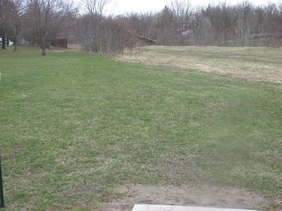 Lincoln Park, Main course, Hole 10 Tee pad