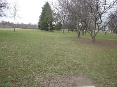 Lincoln Park, Main course, Hole 7 Tee pad