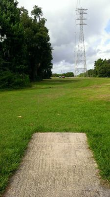 River City Nature Park, Main course, Hole 9 Short tee pad