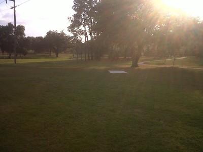 Floral Park, Main course, Hole 2 Long tee pad