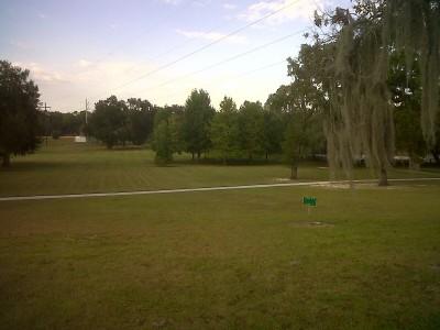 Floral Park, Main course, Hole 8 Long tee pad