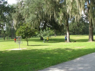 Floral Park, Main course, Hole 18 Reverse (back up the fairway)