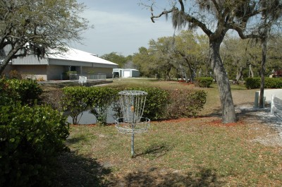 Bay Oaks, Main course, Hole 18 Reverse (back up the fairway)