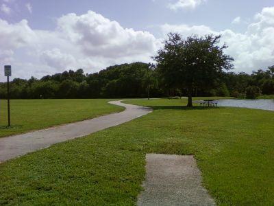 Tradewinds Park, Main course, Hole 12 Tee pad