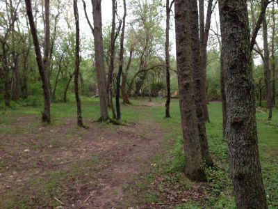 Cold Brook Park, Main course, Hole 15 Midrange approach