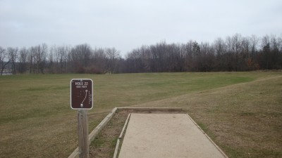 Cold Brook Park, Main course, Hole 22 Tee pad
