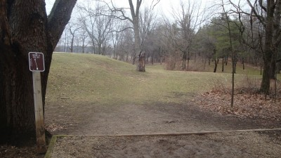 Cold Brook Park, Main course, Hole 2 Tee pad