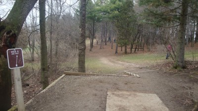 Cold Brook Park, Main course, Hole 6 Tee pad