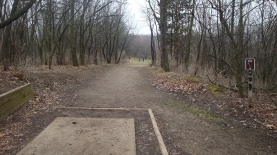 Cold Brook Park, Main course, Hole 8 Tee pad