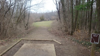 Cold Brook Park, Main course, Hole 24 Tee pad