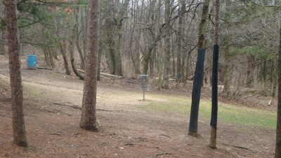 Cold Brook Park, Main course, Hole 7 Short approach