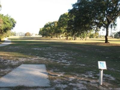 Ed Austin Park, Main course, Hole B Long tee pad