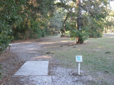 Ed Austin Park, Main course, Hole A Long tee pad
