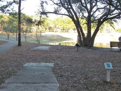 Ed Austin Park, Main course, Hole 9 Long tee pad