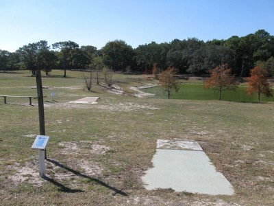 Ed Austin Park, Main course, Hole 10 Long tee pad