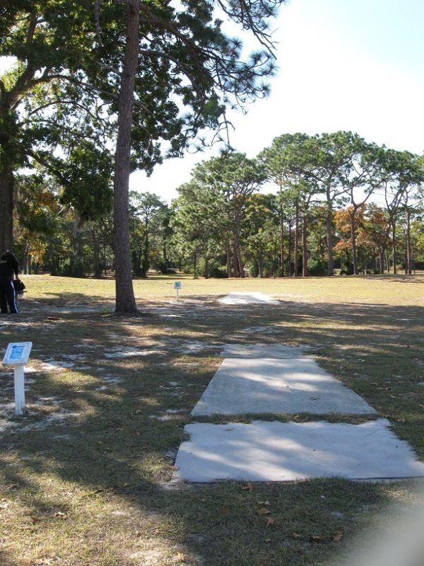 Hole 17 Ed Austin Park Jacksonville Fl Disc Golf