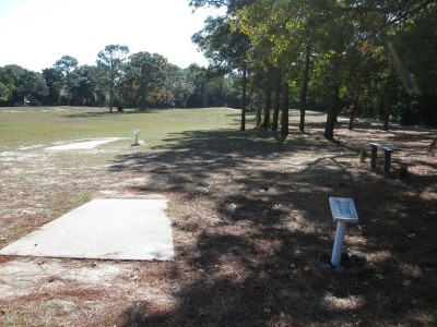 Ed Austin Park, Main course, Hole 12 Long tee pad